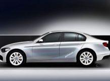 Рендер BMW 1-серии седан