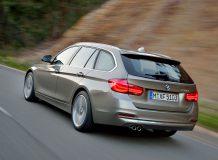 Новая BMW 3 универсал фото