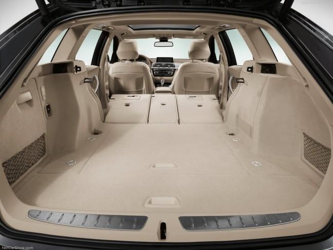 Багажник нового универсала БМВ 3-серии