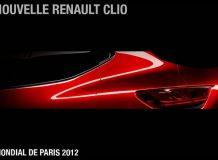 Тизер будущей Renault Clio 4