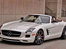 Фото Mercedes SLS GT Roadster 2013