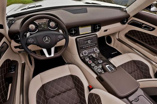 Салон Мерседес SLS AMG Roadster GT