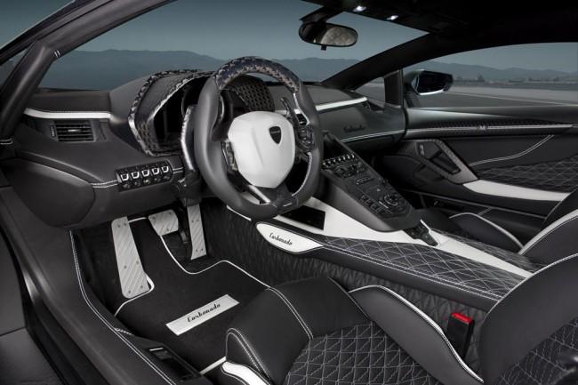 Фото салона Mansory Aventador Carbonado