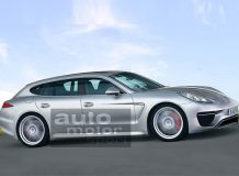 Рендер Porsche Panamera Shooting Brake
