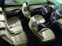 Интерьер Hyundai Santa Fe III фото