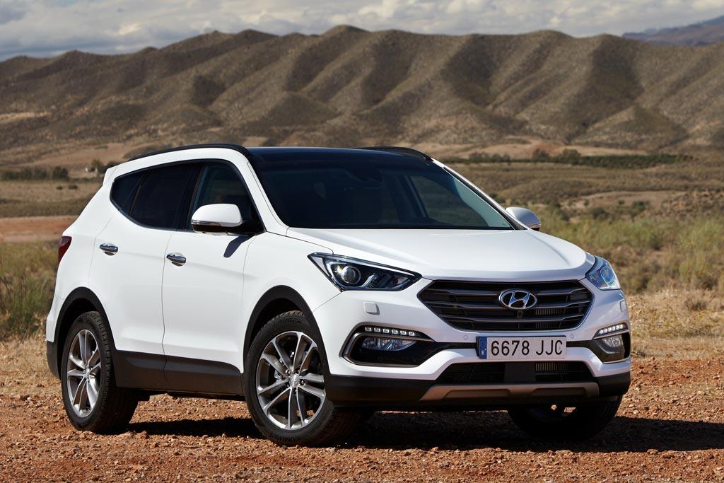 Фото Hyundai Santa Fe 2018 года