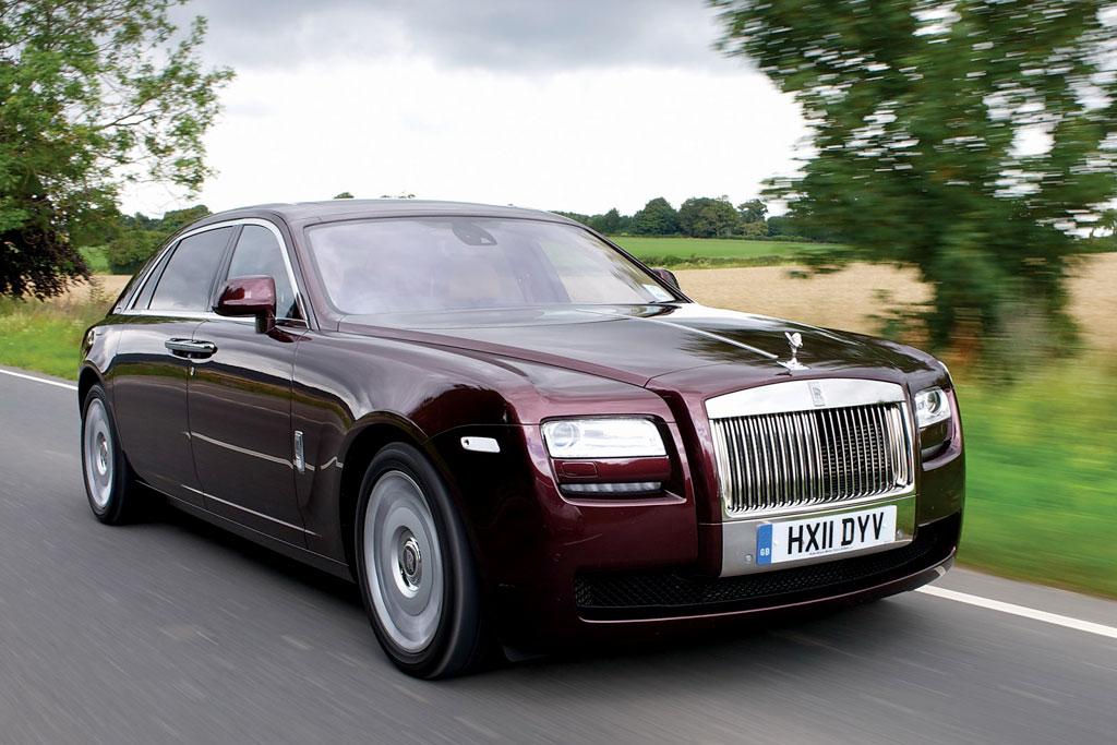 Фото Rolls Royce Ghost 2014