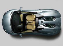 Aventador LP700-4 Roadster вид сверху