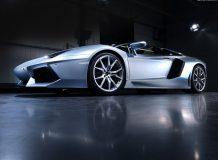Фото суперкара Aventador Roadster