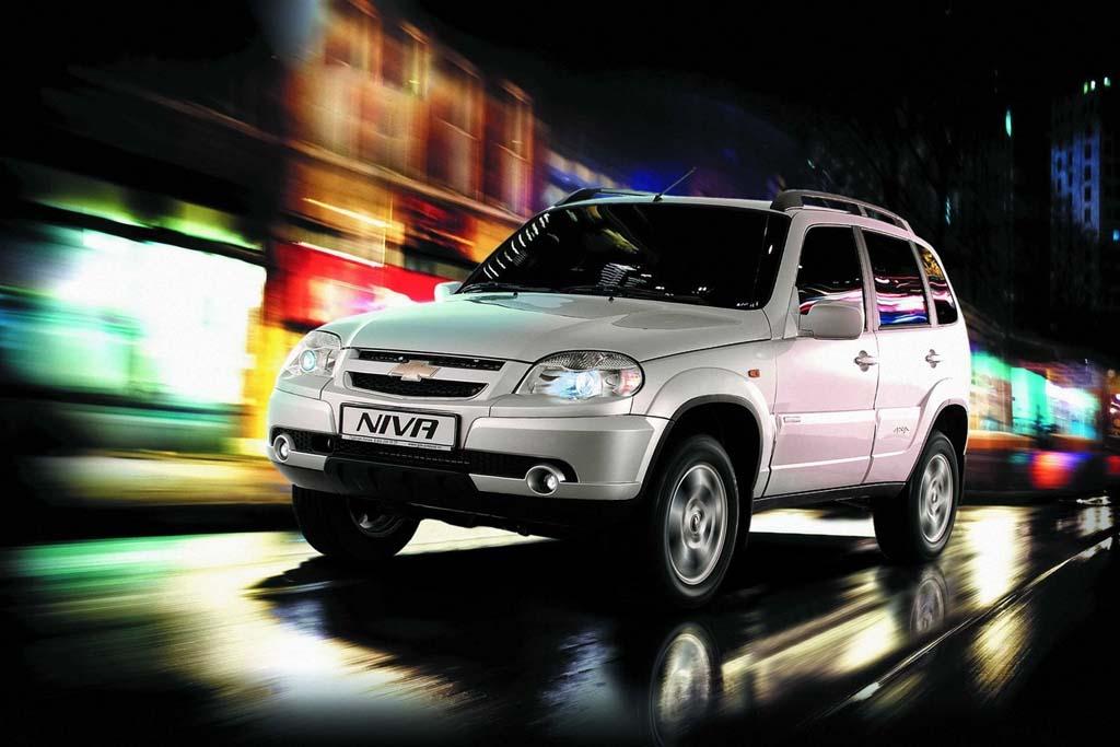 Внедорожник Chevrolet Niva