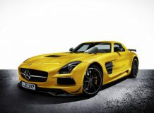 Фото Mercedes SLS AMG Black Series