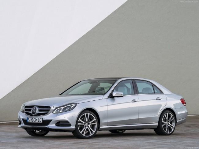 Обновленный Mercedes E-Class 2015