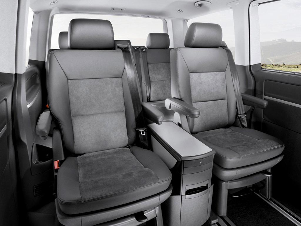 Интерьер VW Multivan Т5 фото