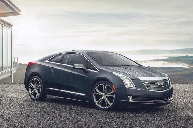 Гибридное купе Cadillac ELR