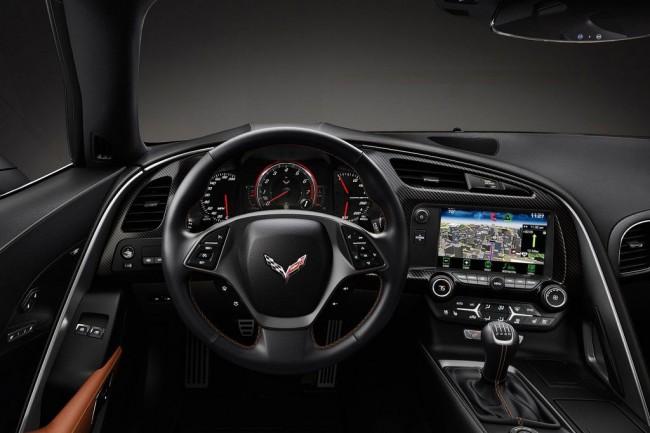 Салон Chevrolet Corvette C7