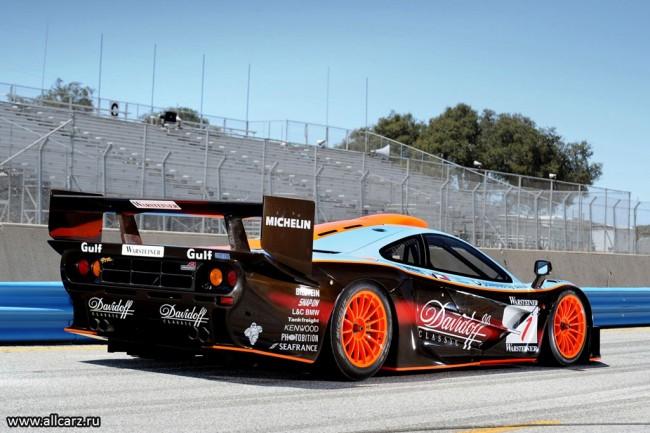 Гоночный McLaren G1 GTR фото
