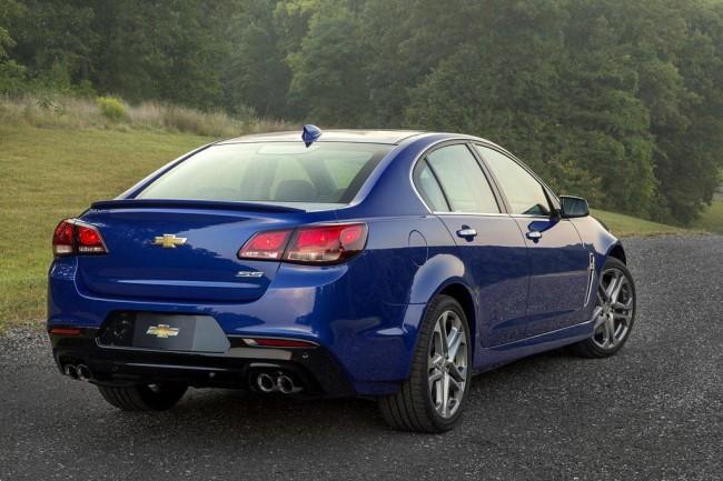 Обновленный Chevrolet SS 2016