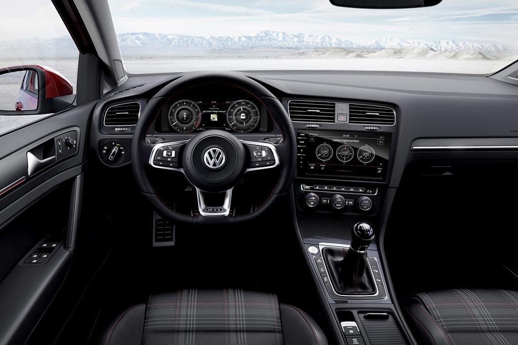 Салон VW Golf 7 GTI