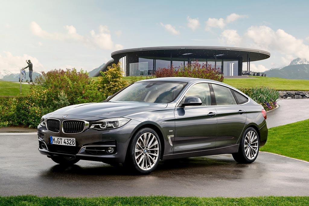 Обновленный BMW 3 GT 2017