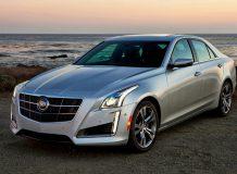 Фото нового Cadillac CTS 2014