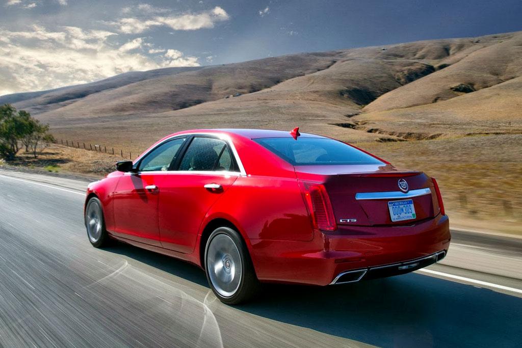 Новый Cadillac CTS III фото