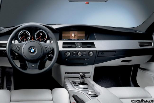 Фото салона BMW M5 E60