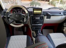 Салон Мерседес G63 AMG 6x6 фото