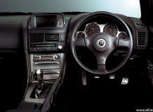 Салон Nissan GTR 34