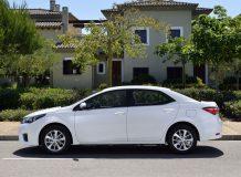 Toyota Corolla 2014 в новом кузове