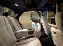 Интерьер Jaguar XJ Autobiography