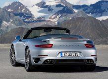 Фото Порше 911 Турбо кабриолет 2014