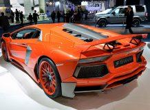 Фото тюнинг Lamborghini Aventador от Hamann