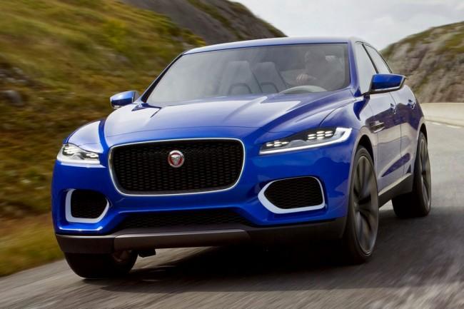 Фото Jaguar C-X17 Concept