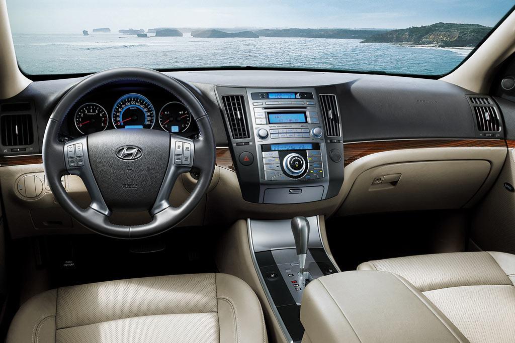 Фото салона Hyundai ix55