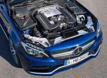 Двигатель нового Мерседес-Бенц С63 АМГ