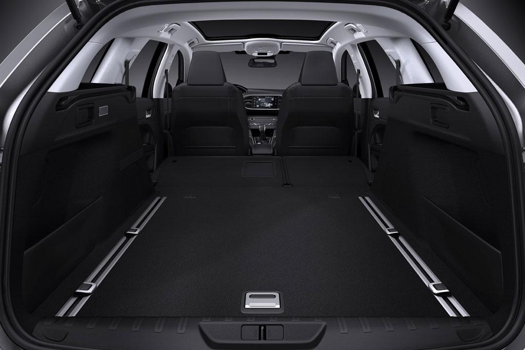 Багажник универсала Пежо 308 SW