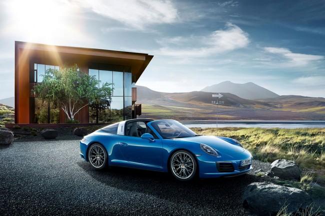 Новый Porsche 911 (991) Targa