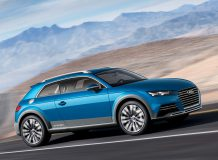 Фото концепта Audi Allroad Shooting Brake