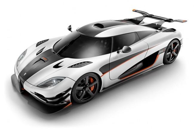Самый быстрый автомобиль в мире Koenigsegg One:1