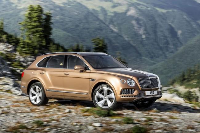 Новый Bentley Bentayga 2016