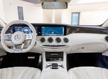 Салон Mercedes-AMG S 63 Coupe C217