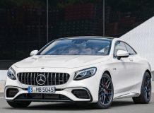 Фото Mercedes-Benz S 63 Coupe 2018 в новом кузове