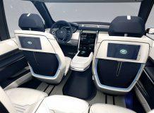 Интерьер Land Rover Vision Concept