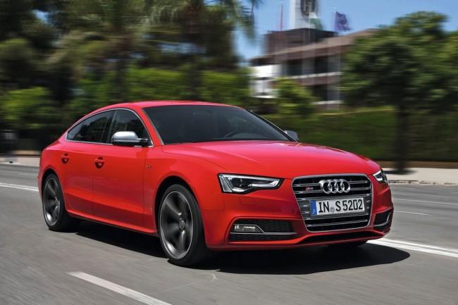 Горячая Audi S5 Sportback