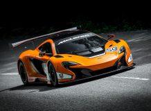 McLaren 650S GT3 фото