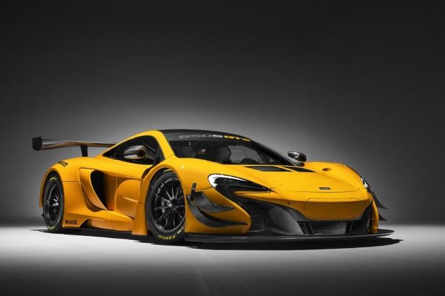 Гоночное купе McLaren 650S GT3 Race Car
