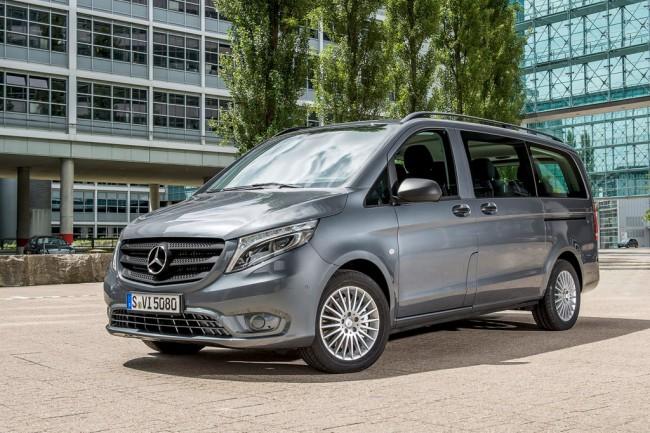 Новый Mercedes-Benz Vito 3 поколения
