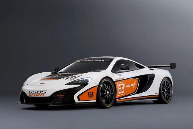 Трековый суперкар McLaren 650S Sprint
