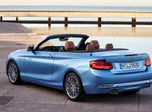 Новый BMW 2 Convertible 2018 фото