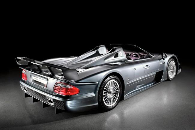 Эксклюзивный Mercedes CLK GTR Roadster
